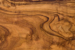 Olive wood texture. Middle brown Royalty Free Stock Image