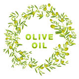 Olive Wreath Stock Image