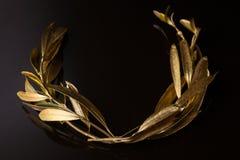 The olive wreath (kotinos) Royalty Free Stock Photo