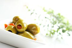 olive, zielona Obraz Royalty Free