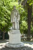 The Oliveira Martins statue Stock Photography