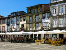 Oliveira Square in Guimaraes, Portugal Royalty Free Stock Photography
