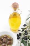 Olivenöl der Jungfrau lizenzfreie stockfotografie