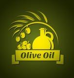 Olivenöl-Designschablonen des Vektors für Ihr Design stock abbildung