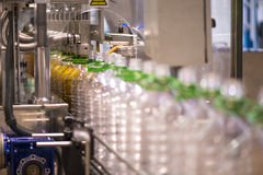 Olivenölfabrik, Olive Production Stockbild