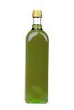 Olivenölflasche lizenzfreies stockfoto