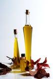 Olivenölstillleben Lizenzfreie Stockfotografie