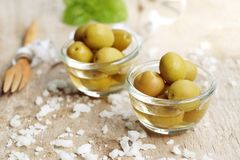 oliven Lizenzfreie Stockfotografie