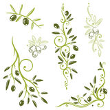 Oliven, Gemüse Lizenzfreie Stockfotografie