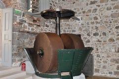 Oliven-Zerkleinerungsmaschine Stockbilder