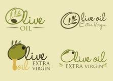 Olivendesign stock abbildung