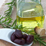 Olivennahaufnahme Stockfotos