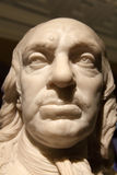 Oliver Cromwell. Early 18th century bust sculpture by Joseph Wilton of Oliver Cromwell 1599-1658, who became Lord Protector of Britain, during the short lived Stock Photos