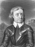 Oliver Cromwell. (1599-1658) on engraving from the 1800s. English military and political leader best known for his involvement in making England into a Stock Photography