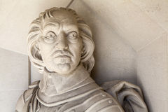 Oliver Cromwell Sculpture in London Royalty Free Stock Photo