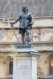 Oliver Cromwell statua Fotografia Royalty Free