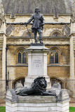 Oliver Cromwell Statue - London Stock Photos