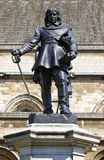 Oliver Cromwell Statue in London Royalty Free Stock Photos