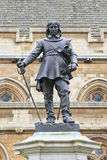 Oliver Cromwell - Statue, London, UK. Oliver Cromwell - Statue in front of Palace of Westminster (Parliament), London, UK Royalty Free Stock Photo