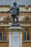 Oliver Cromwell Statue, London, UK. Oliver Cromwell - Statue in front of Palace of Westminster (Parliament), London, UK Stock Photography