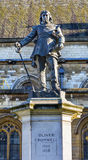 Oliver Cromwell Statue Parliament Westminster London England Stock Photography