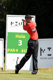 Oliver Fisher Winner of Golf Open at Celadna Stock Photo