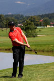 Oliver Fisher Winner of Golf Open at Celadna Stock Photography