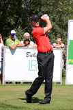 Oliver Fisher Winner of Golf Open at Celadna Royalty Free Stock Images