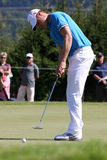 Oliver Fisher Winner of Golf Open at Celadna. CELADNA, CZECH REPUBLIC - AUGUST 21:  Oliver Fisher (ENG) winner of PGA Tournament  at the Czech Open, European Stock Photo