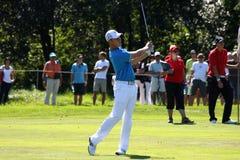 Oliver Fisher Winner of Golf Open at Celadna Stock Photo