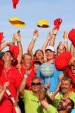 Oliver Fisher Winner of Golf Open at Celadna. CELADNA, CZECH REPUBLIC - AUGUST 21:  Oliver Fisher (ENG) winner of PGA Tournament  at the Czech Open, European Stock Photography