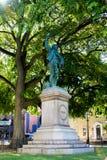 Oliver Hazard Perry Statue in Newport, RI. Stock Photo