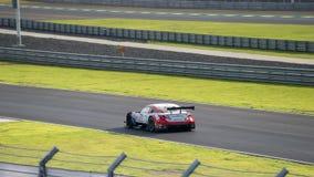 Oliver Jarvis di LEXUS TEAM SARD nella categoria a di GT500 Qualiflying Fotografie Stock