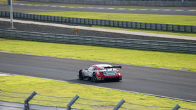 Oliver Jarvis of LEXUS TEAM SARD in GT500 Qualiflying Category a Stock Photos