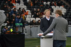 Oliver Kahn at Donbass Arena Stock Photo