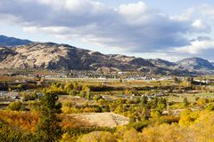 Oliver Okanagan Valley British Columbia Photos stock