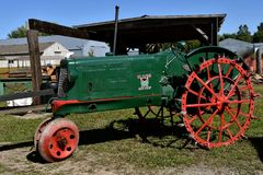 Oliver restored Row Crop tractor Stock Photo