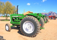 Classic American Tractor: 1950 Oliver Stock Images