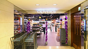 Oliver's the delicatessen, hong kong Stock Photos