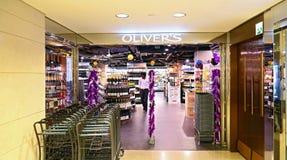 Oliver's the delicatessen, hong kong Stock Photos