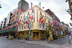 OLIVER ST JOHN GOGARTY BAR DUBLIN stock fotografie