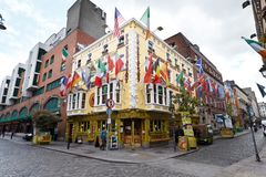 OLIVER ST JOHN GOGARTY'S PUB DUBLIN Stock Photography