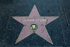 Oliver Stone Hollywood Star Stock Photography