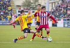 Oliver Torres d'Atletico De Madrid Photos libres de droits