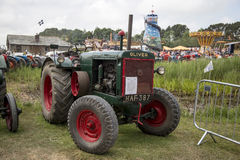 Oliver tractor Stock Image