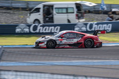 Oliver Turvey of Drago Modulo Honda Racing in Super GT Final Rac Royalty Free Stock Photo