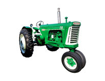 Oliver 770 Vintage Agriculture Tractor. Oliver 770 antique agriculture farming row crop tractor from the vintage American machine and equipment manufacturer Stock Image