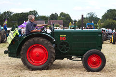 Oliver vintage tractor Royalty Free Stock Image
