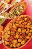 Olives à vendre Photographie stock libre de droits