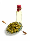 Olives And Oil Stock Images